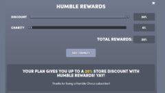 Humble Rewardsで最大10%還元