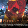 Humble Monthly 2019年1月バンドル予約開始 – Just Cause 3、Project CARS 2、Wizard