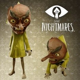 Little Nightmares Tengu Mask2