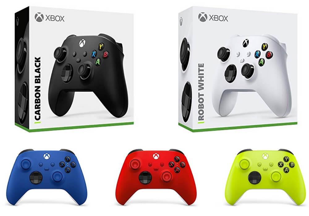 xbox series x s コントローラー カラーバリエーション